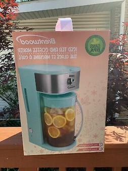 New Brentwood Appliances KT-2150BL Iced Tea and Coffee Maker