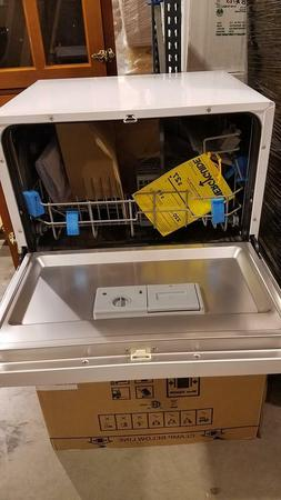 NEW Countertop Portable Compact Mini Apartment Dishwasher Wh