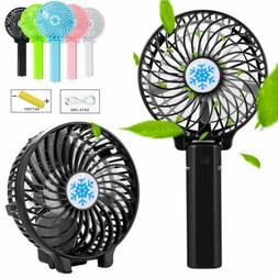 New Quiet Rechargeable Fan Air Cooler Mini Operated Hand Hel