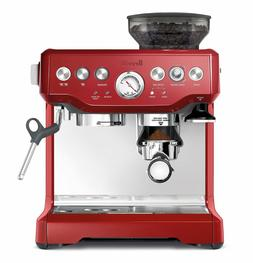 NEW Breville Red Barista Express Coffee Machine & Espresso M