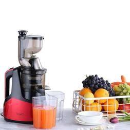 New Slow Masticating Juicer Cold Press Extractor Fruit Veget