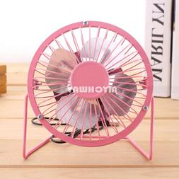 New USB Mini Portable Desktop Cooling Desk Quiet Fan Compute