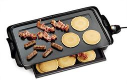 Nostalgia Electrics NGD-200 Non-stick Griddle with Warming D
