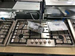 "Bosch NGM8656UC 800 Series 36"" Gas Burner Cooktop in Stainle"