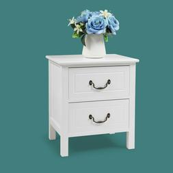 Night Stand 3 Layer 3 Drawers Bedside End Table Organizer Be