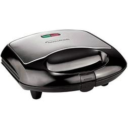 Brentwood Non-Stick Compact Divided Grilled Cheese And Hot S