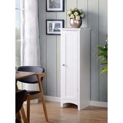OS Home and Office One Door Kitchen Storage Pantry - White o