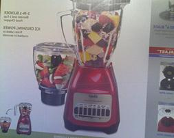 "OSTER 8 SPEED 6 CUP "" MAKE IT FAST "" 2 IN 1 BLENDER  WITH IC"