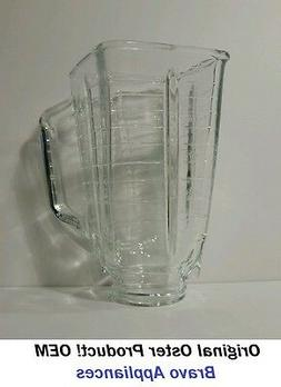 Oster Glass Blender Jar/Carafe Container Square Top 5 Cup