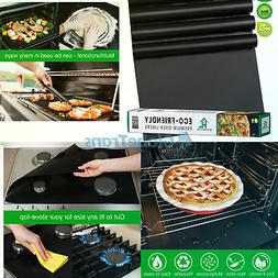 Oven Liners for Bottom of Electric Gas Oven - 4Х Large Nons