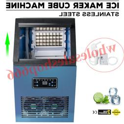 Perfect Commercial Ice Maker Cube Steel Bar Restaurant Auto
