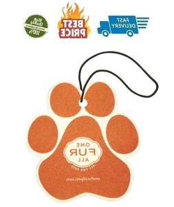 Pet House Car Air Freshener, Pack of 4 – Mandarin Sage - N