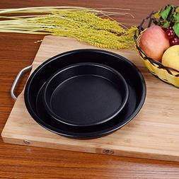 WuKong 9-Inch Pizza Pan Advanced Nonstick Carbon Steel Bakew
