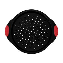 Pizza Pan Non Stick Silicone Handles 13 Inch Cooking Area Ve