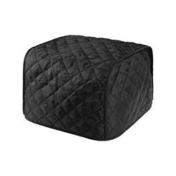 BCP Polyester Fabric Quilted Four Slice Toaster Appliance Du