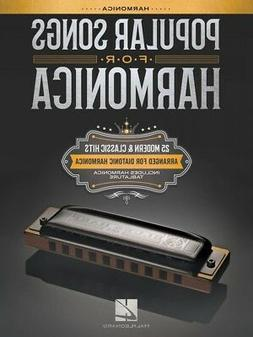 Popular Songs for Harmonica 25 Modern and Classic Hits Song