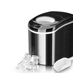 portable countertop ice maker machine 26 lbs