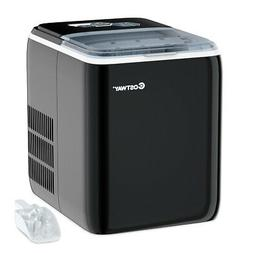Portable Countertop Ice Maker Machine 44Lbs/24H Self-Clean w