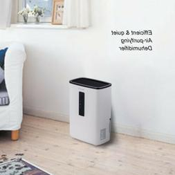 Portable Dehumidifier for Rooms, Basement, Bathroom, Ultra-Q