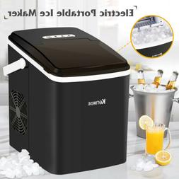 Electric Ice Maker Portable Compact Machine Cube Countertop