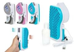 Portable Hand Held Air Conditioner Summer Cooler Fan with Ha