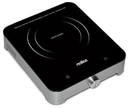 "Salton Portable 11"" Induction Cooktop with 1 Burner STN1092"