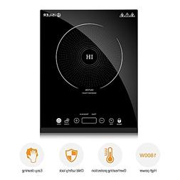 Portable Induction Cooktop, iSiLER 1800W Sensor Touch Electr