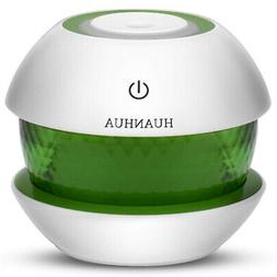Portable Mini Cool Mist Humidifier, Light Color Change Baby