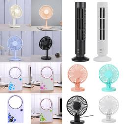 Portable Mini USB Cooling Fan Desktop Quiet Cooler Desk Tabl