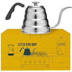 Pour Over Coffee Kettle with Thermometer for Exact Temperatu