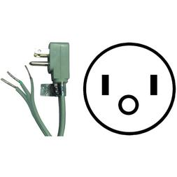 Certified Appliance Accessories 15-Amp 90°-Plug Appliance P