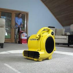 Quiet Air Mover Blower Fan Carpet Floor Dryer Wall Ceiling W