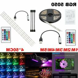 Remote Led String Strip Color Changing Lights Lamps Indoor R