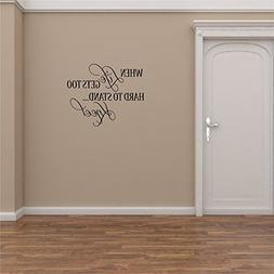 mishet Removable Vinyl Wall Stickers Mural Decal Art Home De