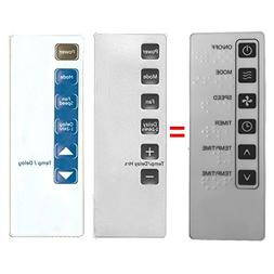 Replacement for GE Air Conditioner Remote Control 0010401791