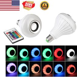 RGBW E27 LED Bulb Light Lamp Color Changing Dimmable Bluetoo