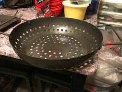 Round grill pan IGNITE Brand for outdoor grilling and cookin