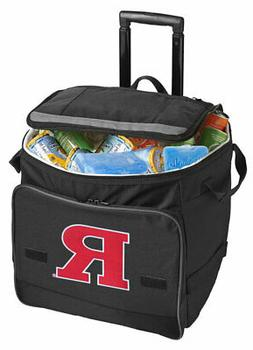 RUTGERS Rolling Cooler Bag with Wheels-GREAT FOR THE GAME!