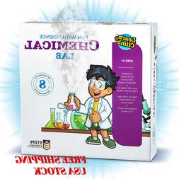 Science Kits For Kids Gift 8 Chemistry Experiments Step By S