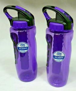Set of 2 Cool Gear 32 oz Drinking Bottles with Freezer Stick