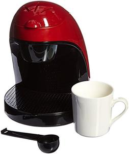 Single Cup Coffee Maker - Red