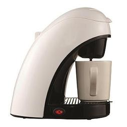 Brentwood 97089523M Single Cup Coffee Maker - White