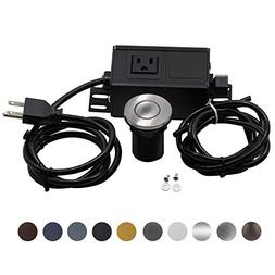 Sink Top Air Switch Kit, Garbage Disposal Part Built-Out Ada