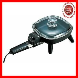 Brentwood SK-45 6 in. Electric Skillet with Glass Lid