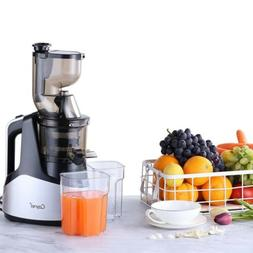 """Slow Masticating Juicer Cold Press Extractor with 3""""Wide Chu"""