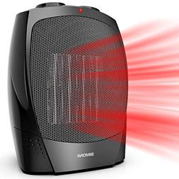 Space Heater, 1500W Energy Saving with Thermostat, Quiet for