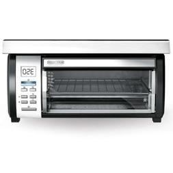 BLACK+DECKER Spacemaker Toaster Oven, Black And Stainless, T