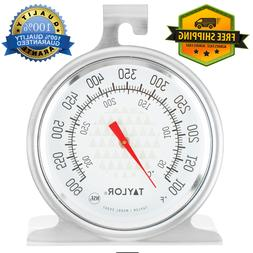 Stainless Steel BBQ Smoker Oven Grill Thermometer Kitchen Te