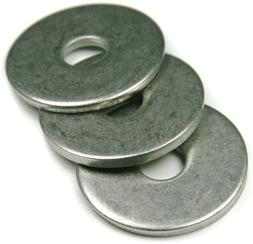Stainless Steel Fender Washers Extra Thick Washers SAE Inch