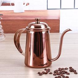 Stainless steel Gooseneck Kettle - 8th team 650ml Pour Over